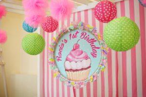 Rocio Marie's Cupcake Themed Party – 1st Birthday