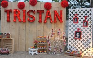Tristan's Vintage Carnival Themed Party – 3rd Birthday