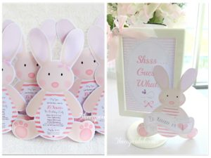 Zi Xuan's Chic Bunny Themed Party – 1st Birthday