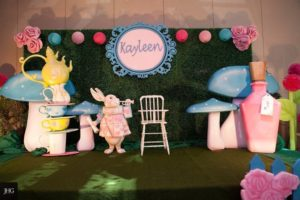 Kayleen's Alice in Wonderland Themed Party – 1st Birthday