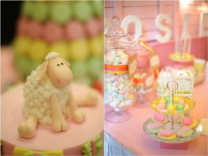Rosie's Little Lamb Themed Party – 1st Birthday