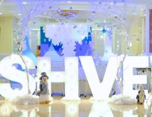 Ashvee's Winter Wonderland Themed Party – 1st Birthday