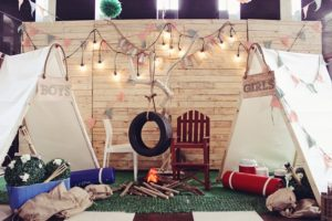 Liam's Camping Themed Party – 1st Birthday