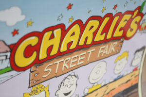 Sophia Charlie's Snoopy Street Fair Themed Party – 1st Birthday