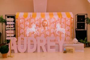 Audrey's Pink Vintage Carnival Themed Party – 2nd Birthday