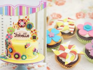 Ysabelle's Bright and Modern Sunshine Themed Party – 1st Birthday
