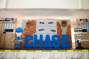 Chase's Cops and Robbers Themed Party – 1st Birthday