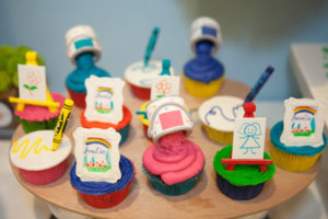 Amalia's Rainbow Art Party – 3rd Birthday