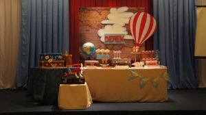 Derek's Little Traveler Themed Party – Baptismal Celebration