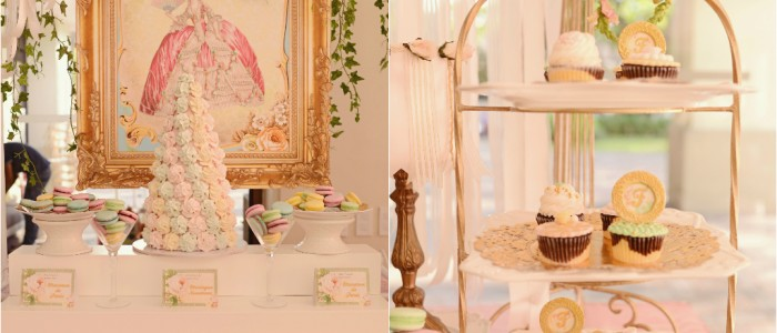 Francesca's Marie Antoinette Themed Party – 1st Birthday