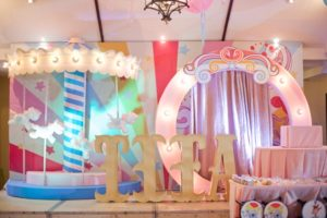 Tiffany's Dainty Carnival Themed Party – 1st Birthday