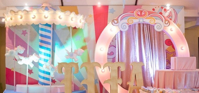 Tiffany's Dainty Carnival Themed Party – 1st Birthday