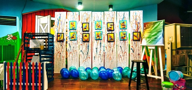 James' Art Attack / Painting Themed Party – 1st Birthday
