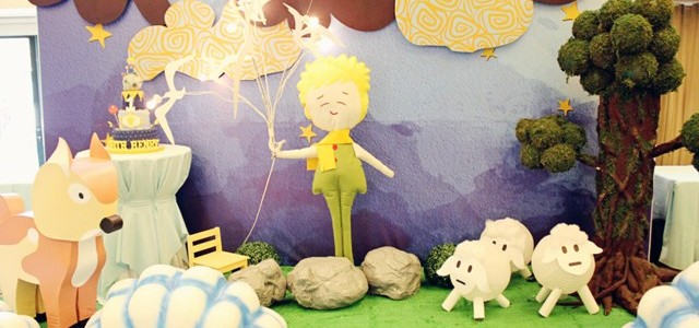 Keith's The Little Prince Themed Party – 1st Birthday