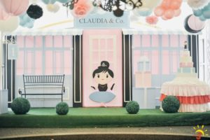 Claudia's Breakfast at Tiffany's Themed Party – 1st Birthday