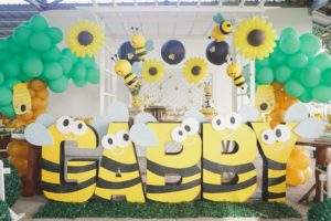 Gabby's Honey Bee Themed Party – 1st Birthday