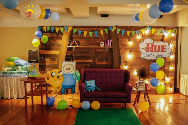 Hue S Adventure Time Themed Party 7th Birthday Party