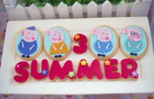 Summer's Peppa Pig Themed Party – 3rd Birthday