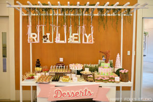 Riley's Swing Themed Party – 1st Birthday