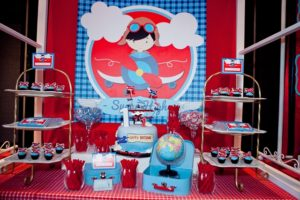 Jaime's Aviation Themed Party – 1st Birthday
