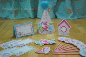 Shabby Chic Printables by Paper Garland Design Kids