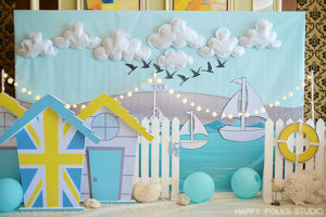 Nathan's British Seaside Themed Party – 1st Birthday