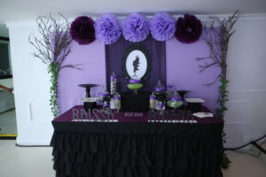 Rhina and Rhaissa's Maleficent Themed Party – 7th and 10th Birthday