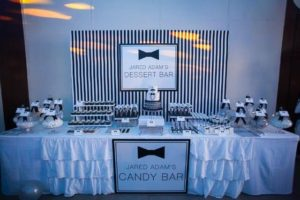 Jared's Black and White Little Gentleman Themed Party – 1st Birthday