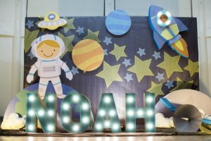 Noah's Outer Space Themed Party – 1st Birthday
