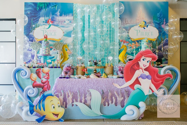 Paige And Pierces The Little Mermaid Party 2nd Birthday