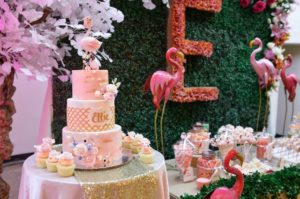 Ellie's Pink Flamingo Themed Party – 1st Birthday