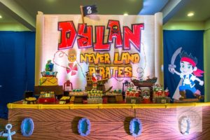 Dylan's Jake and the Never Land Pirates-Themed Party – 3rd Birthday