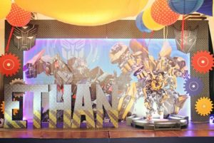 Ethan's Transformers Themed Party – 7th Birthday