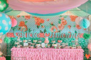 Chloie's Shabby Chic Bunny Themed Party – Baptismal Celebration