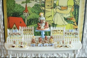 Justine's Goldilocks and the Three Bears Themed Party – 1st Birthday