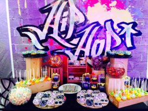 Keisha's Hip Hop Themed Party – 9th Birthday