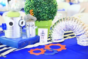 Walter's Robot Themed Party – 1st Birthday