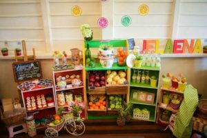 Jelaena's Tutti Frutti Themed Party – Baptismal Celebration