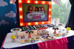 Caeley's Lego Friends Themed Party – 7th birthday