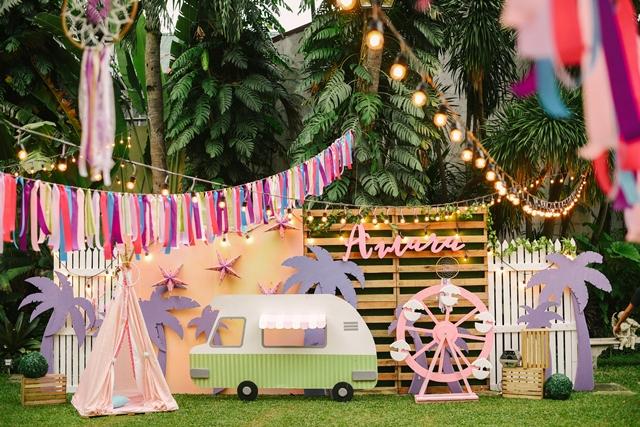 Amaras Coachella Themed Party 1st Birthday Doll