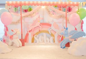 Isobel's Unicorn Themed party – 1st Birthday
