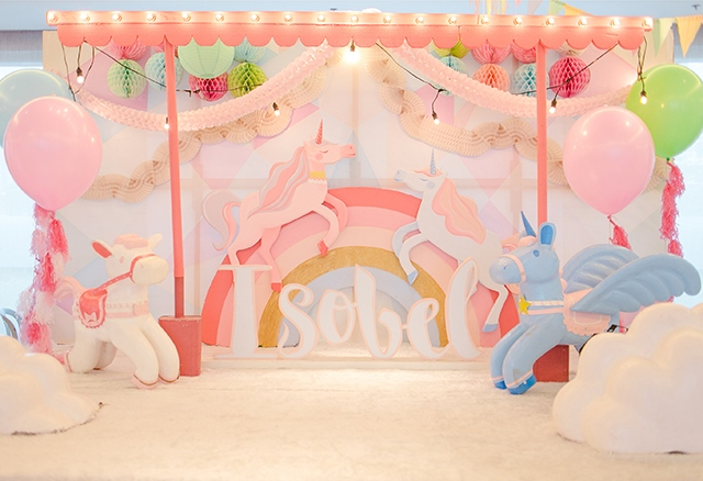 Isobel S Unicorn Themed Party 1st Birthday Party Doll