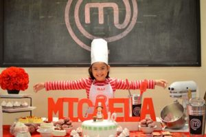 Micaela's Junior MasterChef Themed Party – 10th Birthday
