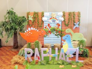 Raphael's Charming Dinosaur Themed Party – 1st Birthday