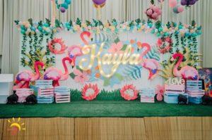 Kayla's Pink Flamingo Themed Party – 1st Birthday