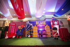 Blake's Paddington Bear in London Themed Party – 1st Birthday