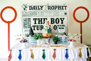 Riley's Harry Potter Themed Party – 1st birthday