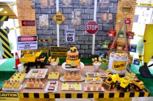 Carlos' Construction Themed Party – 1st Birthday