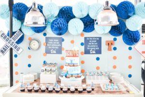 Thomas' Charming Train Themed Party – 1st Birthday