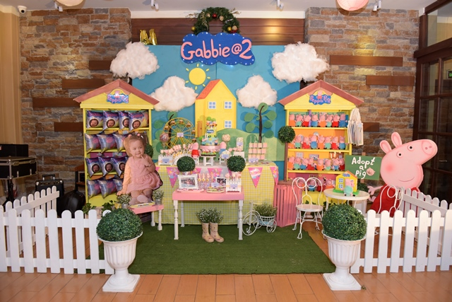 Gabbie S Peppa Pig Themed Party 2nd Birthday Party